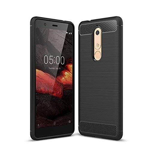 Nokia 5.1 Case Carbon Fibre Black - That Gadget UK