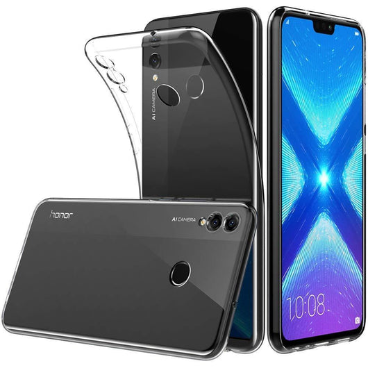 Huawei Honor 8X Case Clear Gel - That Gadget UK