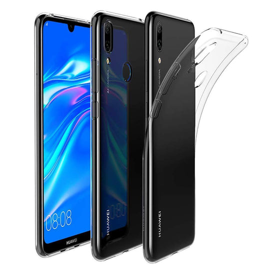 Huawei Y7 Pro (2019) Case Clear Gel - That Gadget UK