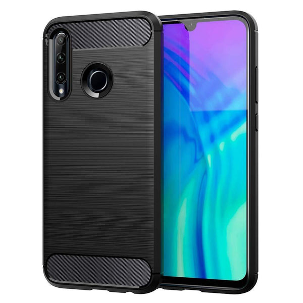 Honor 20 lite Case Carbon Fibre Black
