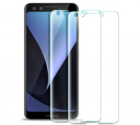 Google Pixel 3 Tempered Glass Screen Protector Guard (Case Friendly) - That Gadget UK