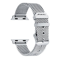 Apple Watch Stainless Steel Mesh Buckle Band (Series 1 - 5) - That Gadget UK
