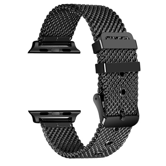 Apple Watch Stainless Steel Mesh Buckle Band (Series 1 - 4) - That Gadget UK