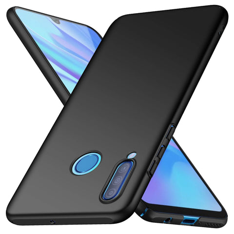 Huawei P30 lite Case Ultra Slim Matte Black - That Gadget UK