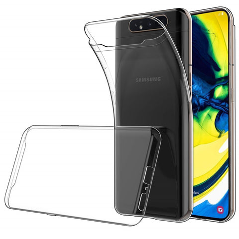 Samsung Galaxy A80 Case Clear Gel - That Gadget UK