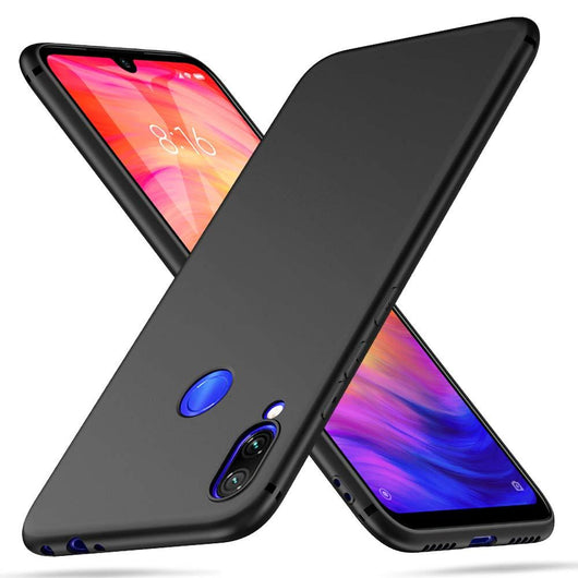 Xiaomi Redmi Note 7 Case Ultra Slim Matte Black