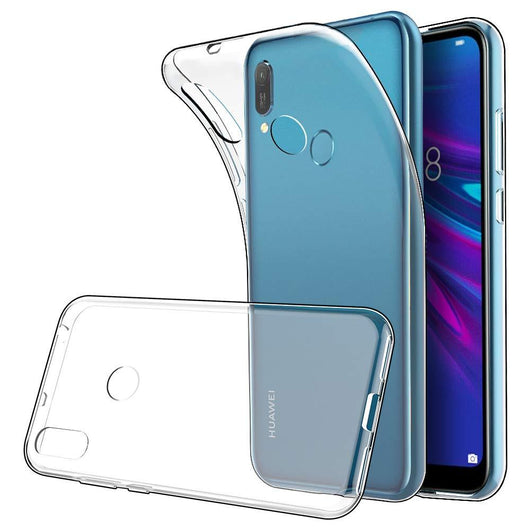 Huawei Y6 (2019) Case Clear Gel - That Gadget UK
