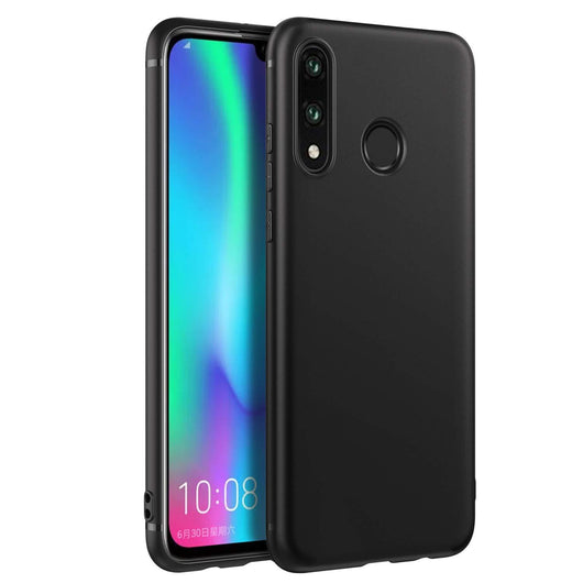 Huawei P30 lite Case Soft Gel Matte Black - That Gadget UK