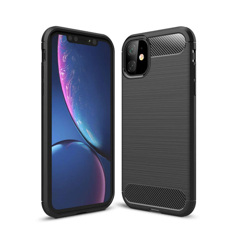 "TGPro Apple iPhone 11 (6.1"") Case Carbon Fibre Black"