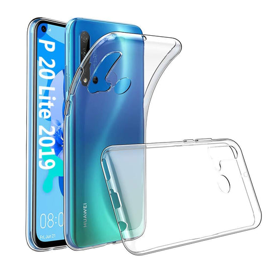 Huawei P20 lite (2019) Case Clear Gel - That Gadget UK