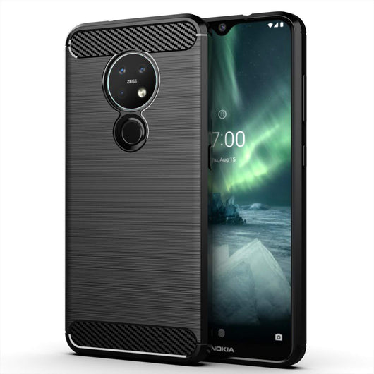 TGPro Nokia 7.2 Case Carbon Fibre Black