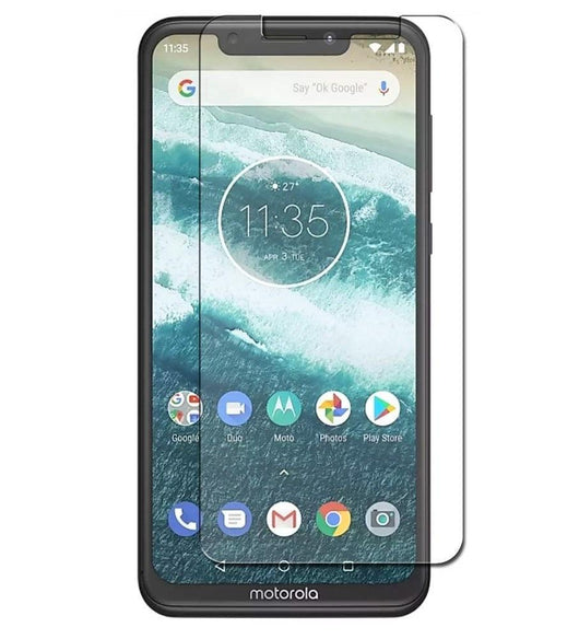Motorola One Tempered Glass Screen Protector Guard (Case Friendly) - That Gadget UK