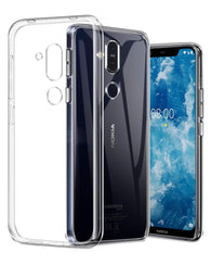 Nokia 8.1 (Nokia X7) Case Clear Gel - That Gadget UK