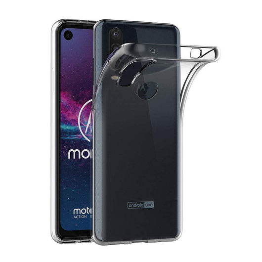 TGPro Motorola One Action Case Clear Gel