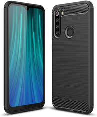 Xiaomi Redmi Note 8 Case Carbon Fibre Black