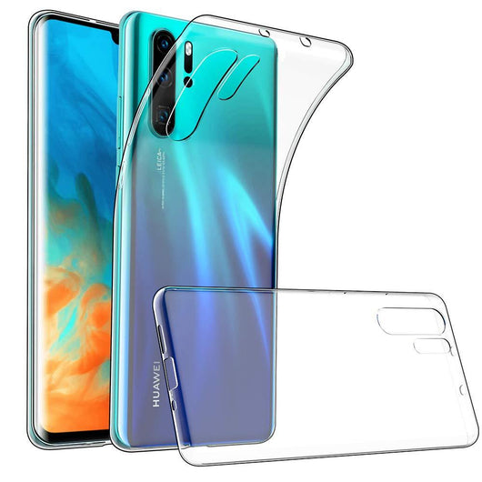 Huawei P30 Pro Case Clear Gel - That Gadget UK
