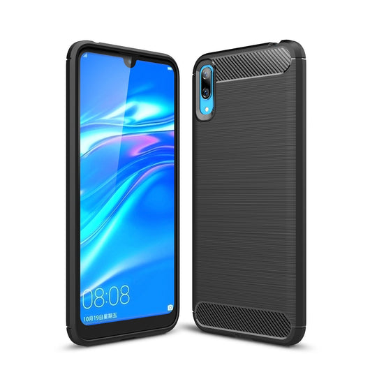 Honor Play 8A Case Carbon Fibre Black - That Gadget UK
