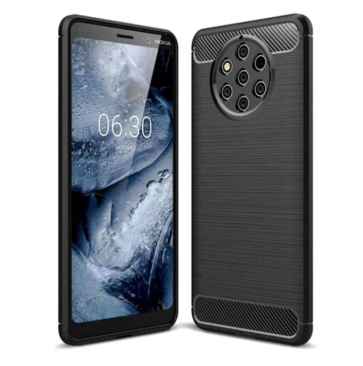 Nokia 9 PureView Case Carbon Fibre Black - That Gadget UK