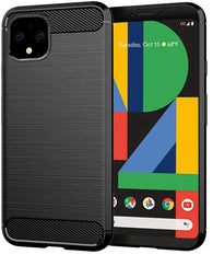 Google Pixel 4 XL Case Carbon Fibre Black