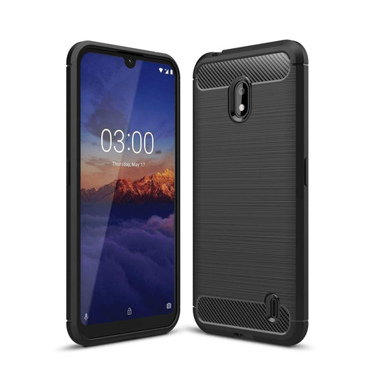 Nokia 2.2 Case Carbon Fibre Black - That Gadget UK