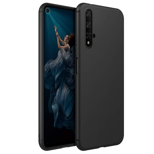 Honor 20 Case Soft Gel Matte Black
