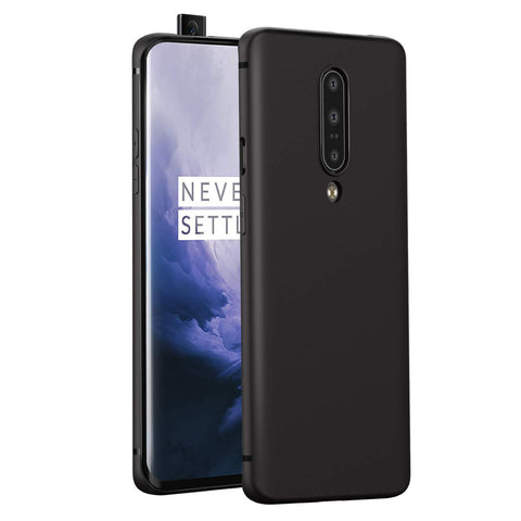 OnePlus 7 Pro Case Soft Gel Matte Black - That Gadget UK