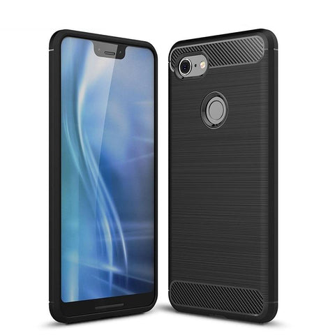 Google Pixel 3 XL Case Carbon Fibre Black - That Gadget UK