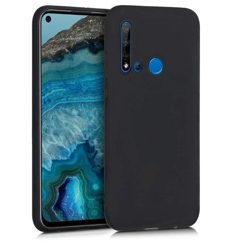 Huawei P20 lite (2019) Case Soft Gel Matte Black
