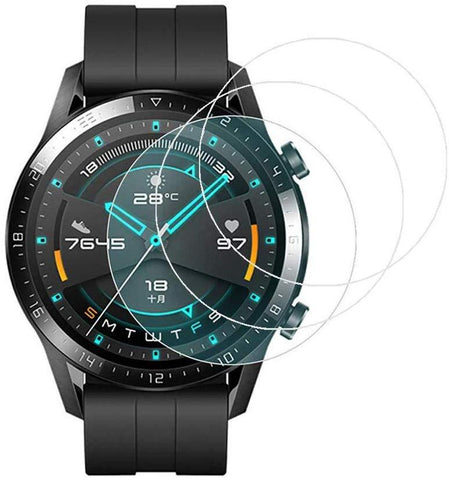 TGPro Huawei Watch GT 2 46mm Tempered Glass Screen Protector Guard