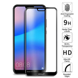 Huawei P20 Lite Tempered Glass Screen Protector Full Coverage - That Gadget UK