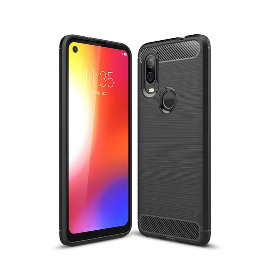 Motorola One Vision Case Carbon Fibre Black - That Gadget UK