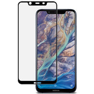 Nokia 8.1 (Nokia X7) Tempered Glass Screen Protector Full Coverage - That Gadget UK