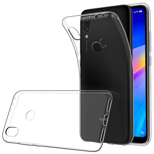 TGPro Xiaomi Redmi 7 Case Clear Gel