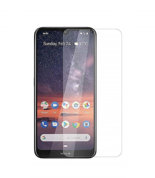Nokia 3.2 Tempered Glass Screen Protector Guard (Case Friendly) - That Gadget UK