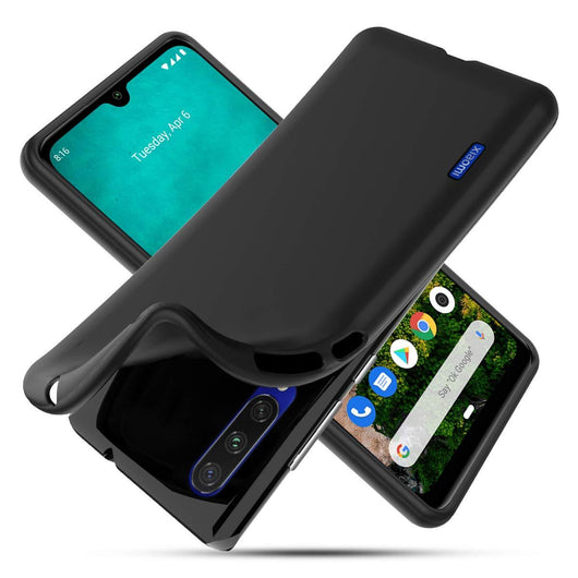 TGPro Xiaomi Mi A3 Case Soft Gel Matte Black