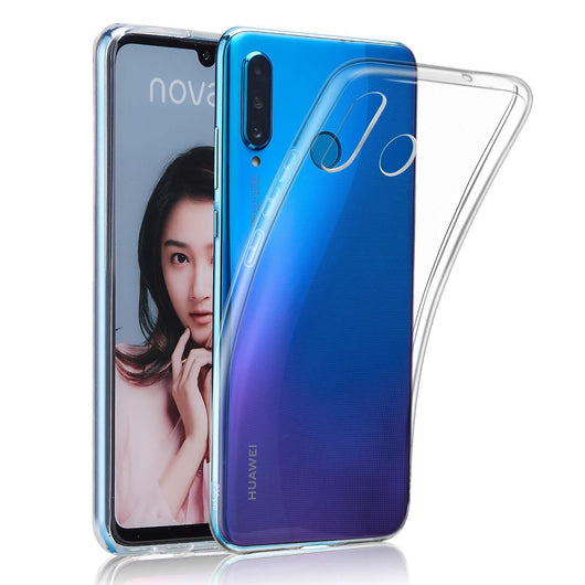 Huawei P30 lite Case Clear Gel - That Gadget UK