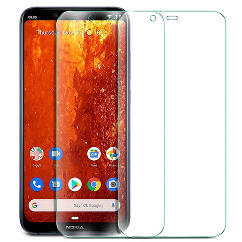 Nokia 8.1 (Nokia X7) Tempered Glass Screen Protector Guard (Case Friendly) - That Gadget UK