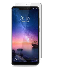 Xiaomi Redmi Note 6 Pro Tempered Glass Screen Protector Guard (Case Friendly)