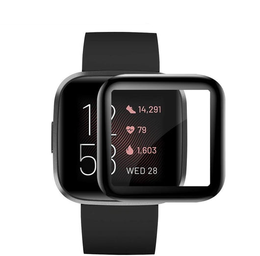 Fitbit Versa 2 Tempered Glass Screen Protector Full Coverage
