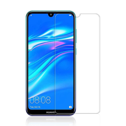 Huawei Y7 Pro (2019) Tempered Glass Screen Protector Guard (Case Friendly) - That Gadget UK