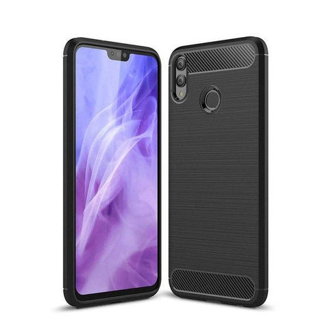 Huawei Honor 8X Case Carbon Fibre Black - That Gadget UK