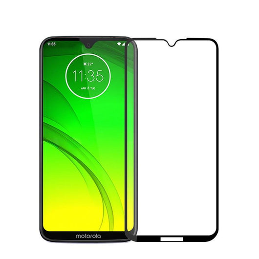 Motorola Moto G7 Plus empered Glass Screen Protector Full Coverage - That Gadget UK