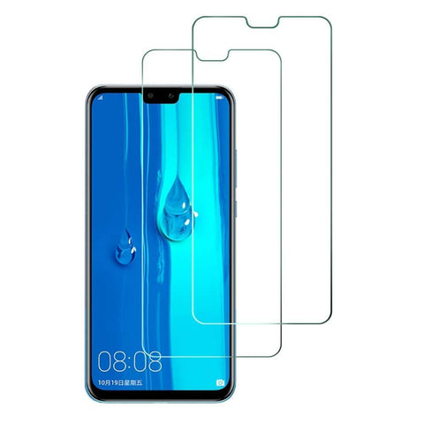 Huawei Y9 (2019) Tempered Glass Screen Protector Guard (Case Friendly) - That Gadget UK