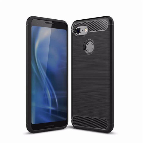 Google Pixel 3 Case Carbon Fibre Black - That Gadget UK