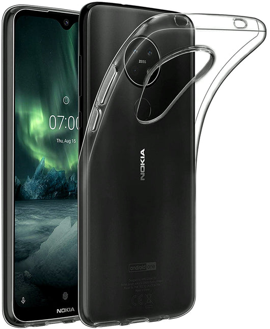 TGPro Nokia 7.2 Case Clear Gel