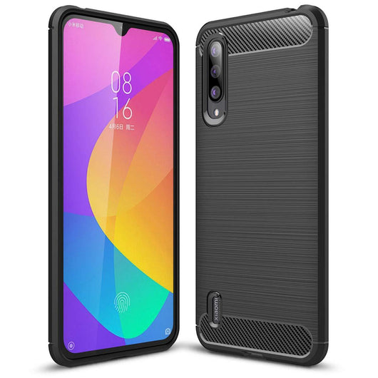 Xiaomi Mi A3 Case Carbon Fibre Black