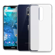Nokia 7.1 Case Clear Gel - That Gadget UK