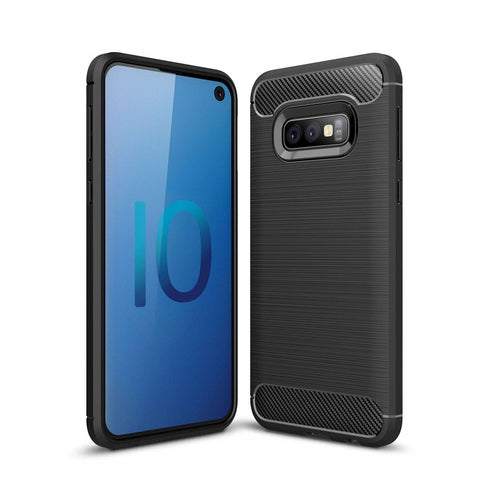 Samsung Galaxy S10e Case Carbon Fibre Black - That Gadget UK