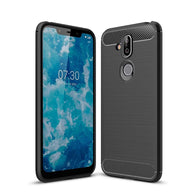 Nokia 8.1 (Nokia X7) Case Carbon Fibre Black - That Gadget UK
