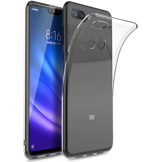 TGPro Xiaomi Mi 8 Lite Case Clear Gel